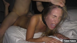 Hot College Babe Fingered And Fucked ROUGH To Multiple Orgasms - BLEACHED RAW - Ep IX
