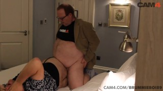 Chubby Daddy Fucks His Boy Toy in a Hotel Room | CAM4