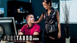 PURE TABOO Lesbian Teacher Christy Love Asks Male Student to Get Her Pregnant