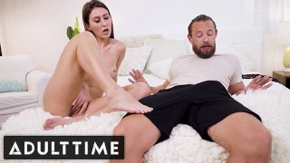 ADULT TIME Paige Owens Stepdad Caught Her Toying Her Wet Pussy
