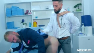 DR NICK NORTH EXAMINES MALEK TOBIAS' ASS