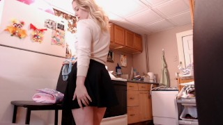 Sissy ABDL(kink) surprised by diapered mommy