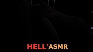 ASMR | Lucifer porn sex scene: hard rough fuck sweet sinner' pussy. Diabla sperm creampie in hell