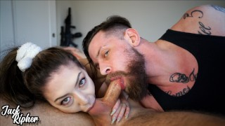 Stag/Vixen Couple Take Down A Cock