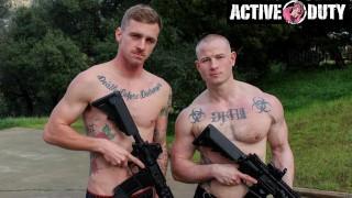 Niko Carr's Muscle Cock Promote Ryan Jordan's Tight Ass - ActiveDuty