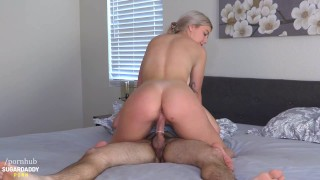 Blue Eyed Bombshell Kylie Loves To Make Daddy Cum