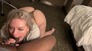 PAWG giving SLOPPY BJ to BBC SUBSCRIBE TO ONLYFANS FOR BLACK FRIDAY SALES