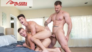 Devin Franco Caught Spying On Couple Fucking - FalconStudios