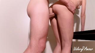 Wife fucks with the plumber to pay the bill while the husband is at a job