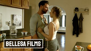 Bellesa - Hot Babe Lena Paul Didnt Cum For A Month And Seth Gamble To The Rescue