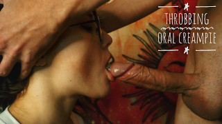 Close Up Blowjob. His Throbbing Cock Cum Mouthful. | Mary Konopelka