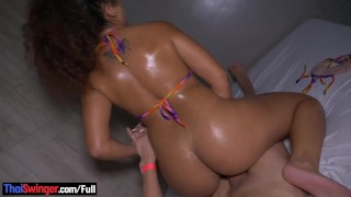 Big butt amateur latina hottie gets her pussy and ass fucked
