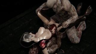 Resident Evil - Ada Wong Zombie Gangbang (BJ, Doggy, Riding, Piledriver, DP, Cumshots)