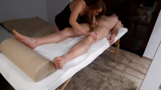 Amateur Full Body Massage with Happy Ending