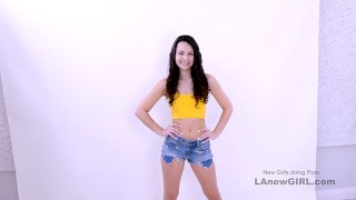 Cute Teen with no model experience gets fucked at Audition POV