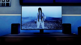 Ring: Futa Yamamura Sadako climbs out of the TV for fucking | Female Taker POV