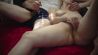 """""SHARED PASSION"""" (Full Movie) - Amazing Mutual Pleasure w/ Real Life Couple - SxySorcererSupreme"