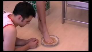 foot feeding humiliation by linda