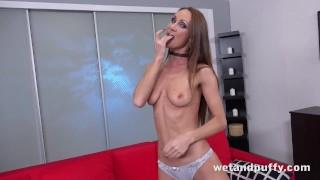 Huge Vibrator Fun For Sexy Cynthia