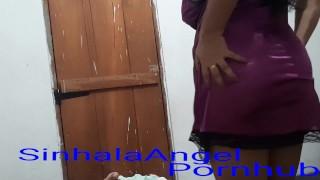 Sri Lanka Hard sex Feelings sexy Nighty with SinhalaAngel මම පයි කන වේසියක් පක ඔබන්න මගේ කටේ