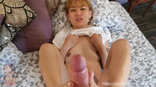 A special feet massage become a fully creamy feet - Xiaoyulil