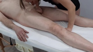 Massage Room  camera (deepthroat and pussy creampie)