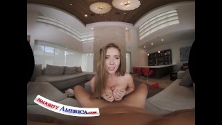 Naughty America - Blonde MILF Kayla Paige needs her pipes checked and you are the lucky one to do it