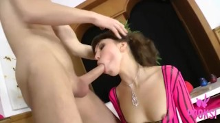 All Natural Young Nympho Karen B Likes To Get Her Hot Ass Rimmed And Fucked