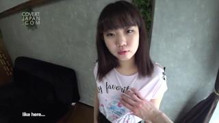 Hyper Cute Kokona Visits Earth to Study Human Reproduction - Covert Japan (JAV English Subs)