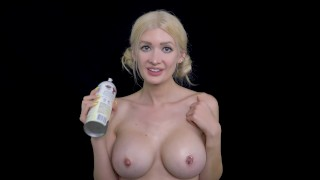 ASMR Whipped Cream Jerk Off Instruction