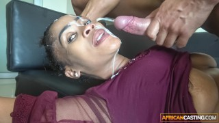 Sloppy Head from Ebony Deep Throat Queen