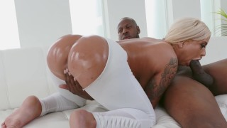BANGBROS - Big Tits PAWG Brandi Bae Is Craves Jon Jon's BBC During Yoga