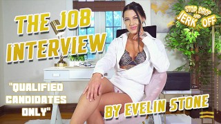 STOP, DROP & JERK OFF - The Job Interview - By Evelin Stone