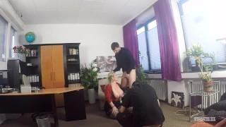 Cum se filmeaza un film Porno Producator Titus Steel, Actori Stefan Steel si Sandy Big Boobs
