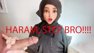 Muslim Stepsister gets fucked while cleaning! Very Hot.