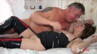 AGEDLOVE Mash of Hardcore Mature Videos With Pandora and Nicole Du Papillon