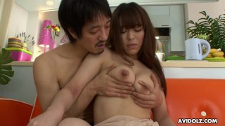 Japanese girl, Minto Asakura is enjoying, uncensored