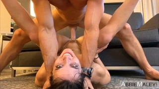 Brunette Fitness Girl Fucked To Multiple Orgasms By Johnny Sins - Abbie Maley