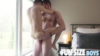 FunSizeBoys - Austin Young and Legrand Wolf in intense bareback fuck