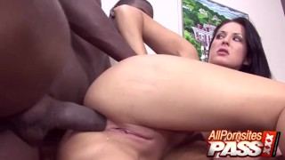 Chelsea Rae BBC Stuffing Her Tight Anal Holes