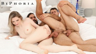 Couple Finds Naked Man In Rental Home, Seduce Him Into Bi Threesome - BiPhoria