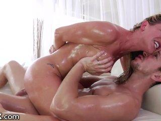 Oil & Rough Big Dick Anal 4 MILF Cherie Deville's Big Ass