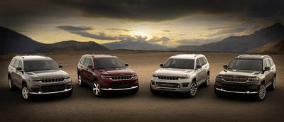 Jeep® Announces Starting Prices for the All-new 2021 Grand Cherokee L Lineup