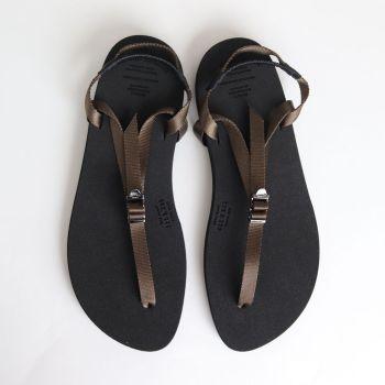 BEAUTIFUL SHOES | ビューティフルシューズ [ BAREFOOT SANDALS (THICK SOLE) #KHAKI [BSS1812006] ]