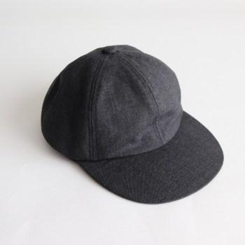 COMESANDGOES | カムズアンドゴーズ [ SUIT FABRIC CAP #GRAY [NO.15564] ]
