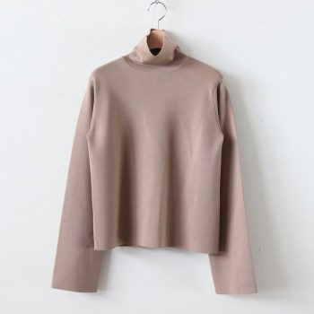 AURALEE | オーラリー [ WOOL SUPER HIGH GAUGE SMOOTH KNIT TURTLE NECK P/O #BEIGE [A9AP03HR] ]