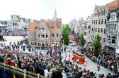 10-jaarlijkse ommegang Ros Beiaard in Dendermonde