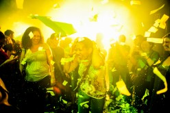 voorstelling Fuerza Bruta in NY