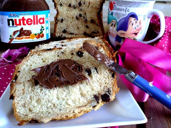 Pan Brioche alla Nutella con la macchina del pane  CiakCucina