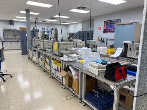Lab machines in the CIA Labs facilites in Saint Jospeh, MO.